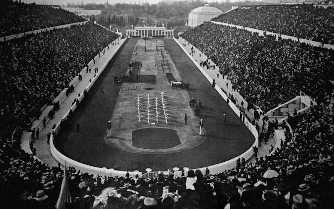 Le olimpiadi da atene 1896 a berlino 1936 - Piscina olimpiadi ...